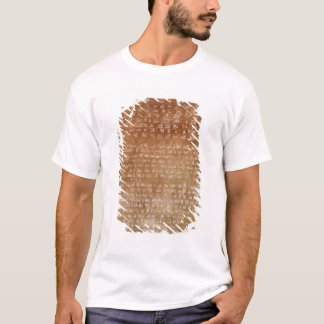 Plaque of Darius I  550-500 BC T-Shirt