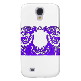 Plaque Purple  transp The MUSEUM Zazzle Gifts Galaxy S4 Case