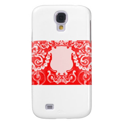Plaque Red White The MUSEUM Zazzle Gifts Samsung Galaxy S4 Cover