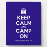 [Campervan] keep calm and camp on  Plaques