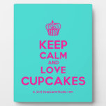 [Cupcake] keep calm and love cupcakes  Plaques