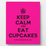 [Cupcake] keep calm and eat cupcakes  Plaques
