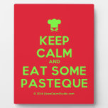 [Chef hat] keep calm and eat some pasteque  Plaques