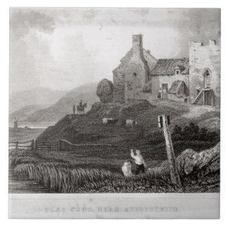 Plas Crug, cerca de Aberystwyth, Cardiganshire (et Azulejo Cuadrado Grande
