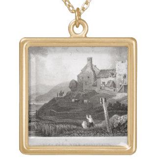 Plas Crug, cerca de Aberystwyth, Cardiganshire (et Colgante Cuadrado