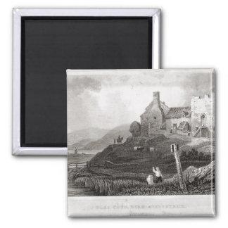 Plas Crug, cerca de Aberystwyth, Cardiganshire (et Imán Cuadrado