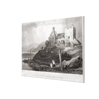 Plas Crug, cerca de Aberystwyth, Cardiganshire (et Impresiones En Lienzo Estiradas