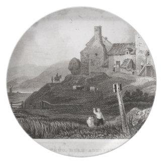 Plas Crug, cerca de Aberystwyth, Cardiganshire (et Plato Para Fiesta