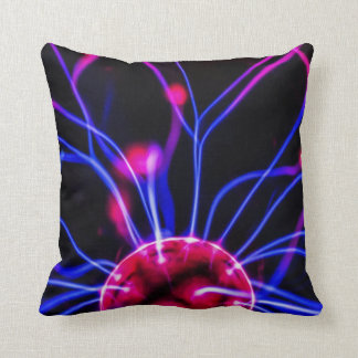 Plasma Ball Abstract Macro Pillow Cushion