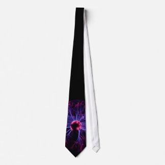 plasma ball neck tie