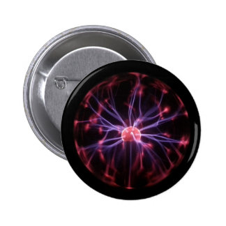Plasma Ball Pinback Button