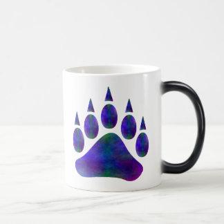 Plasma Bear Paw Symbol A Magic Mug