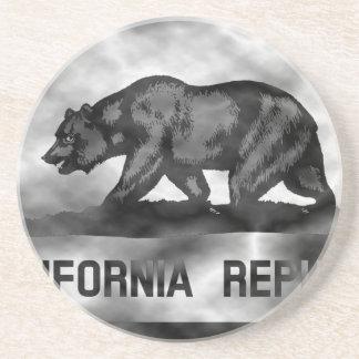 Plasma California Flag Coasters