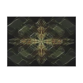 Plasma Stretched Canvas Print