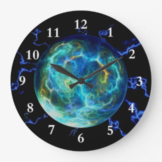 Plasma eléctrica reloj