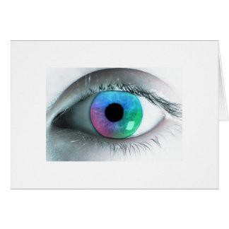 Plasma Eye Card