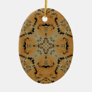 Plasma Fractal  27 Ceramic Ornament