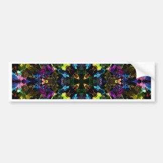 Plasma Fractal 61 Bumper Sticker