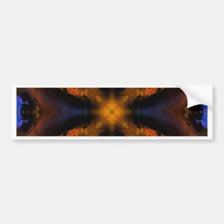 Plasma Fractal 83 Bumper Sticker