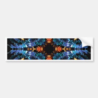 Plasma Fractal 91 Bumper Sticker