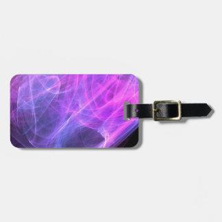 Plasma intensa etiqueta para maleta