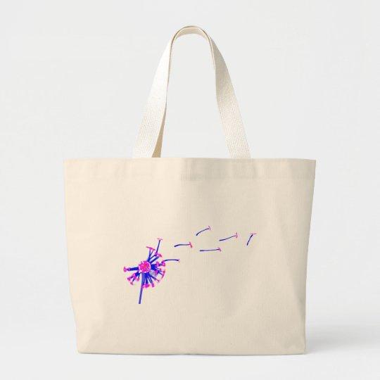 plasma lion large tote bag