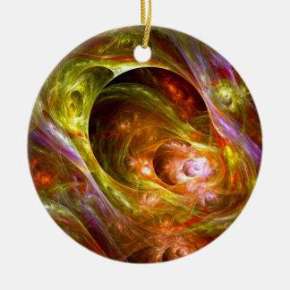 Plasma Paradise Christmas Tree Ornaments