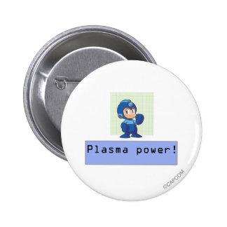 Plasma Power! Pin