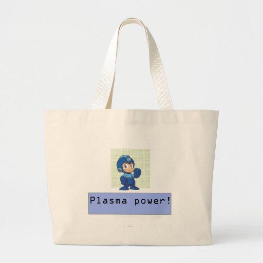 Plasma Power! Large Tote Bag