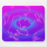 Plasma Swirl: Abstract Artwork: Mouse Pad