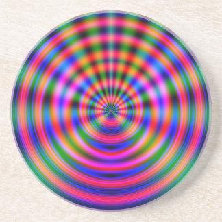Plasma Wave Drink Coaster