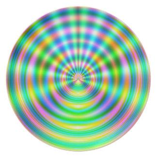 Plasma Wave Party Plate