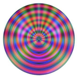 Plasma Wave Party Plates