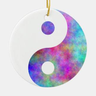Plasma Yin Yang Ceramic Ornament