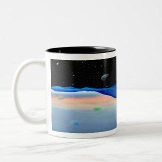 Plasmaball-180 Two-Tone Coffee Mug