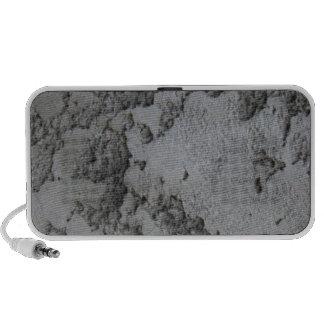 plaste decorativo del cemento mini altavoces