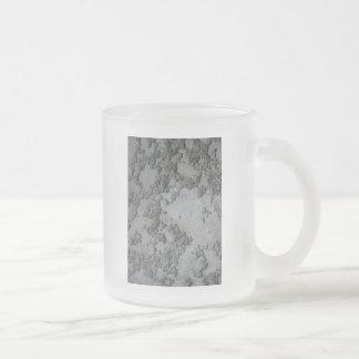 plaste decorativo del cemento taza de cristal