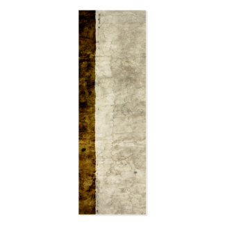 Plaster Antique Paper Template Blank neutral Mini Business Card