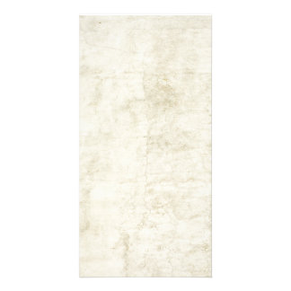 Plaster Antique Paper Template Blank neutral Photo Card