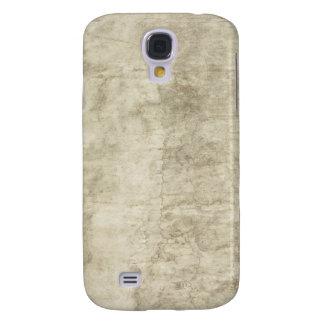 Plaster Antique Paper Template Blank neutral Samsung S4 Case