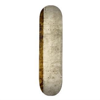Plaster Antique Paper Template Blank neutral Skateboard Deck