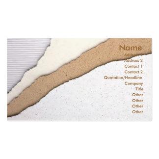 Plaster Coating Business Card