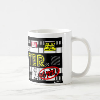 plaster coffee mug