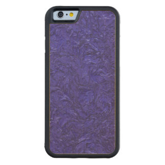 plaster inky blue (I) Carved® Maple iPhone 6 Bumper Case