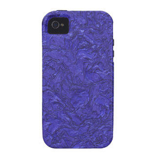 plaster inky blue (I) iPhone 4 Cases