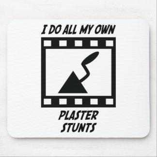 Plaster Stunts Mouse Pad