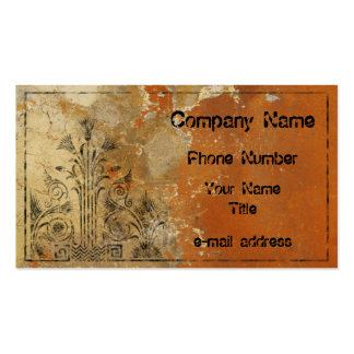 Plaster Wall Business Cards