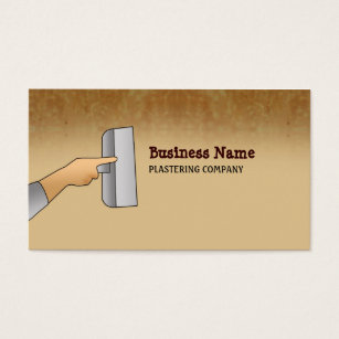 Plaster business cards templates zazzle plasterer business cards accmission Images