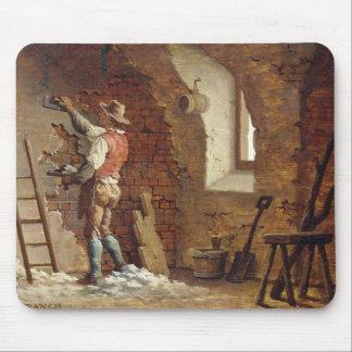 Plasterer, c.1807 (oil on panel) mouse pad