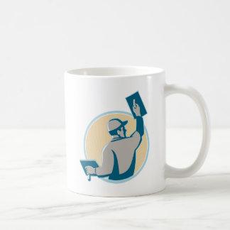 plasterer construction worker trowel coffee mug